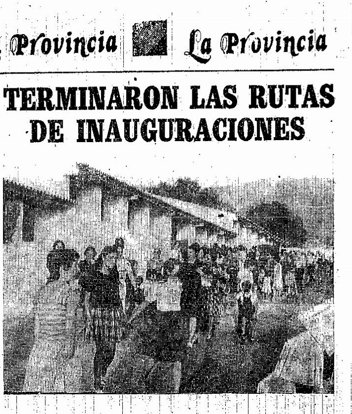 Inauguración de nuestro primer cebadero recogida en El Adelantado de Segovia.